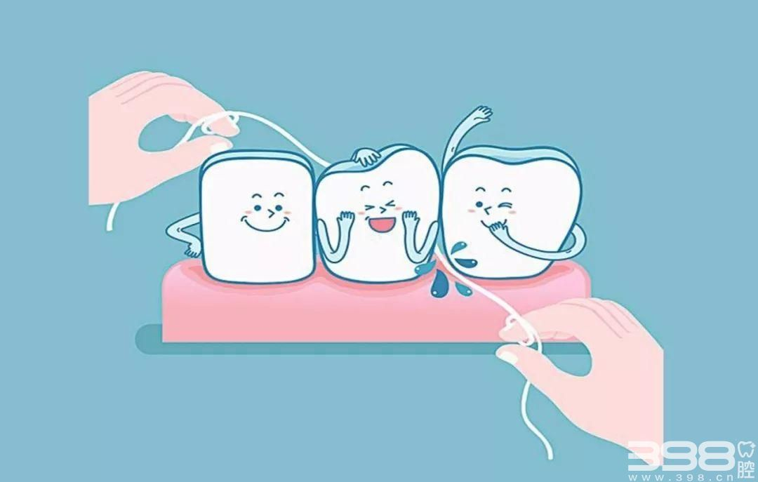 如何正确使用牙线