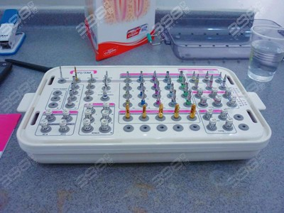 北京瑞鲨口腔医院种植牙工具