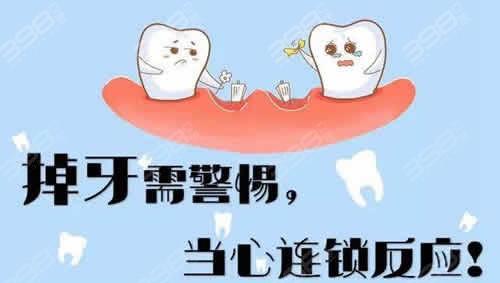牙齿缺失的危害
