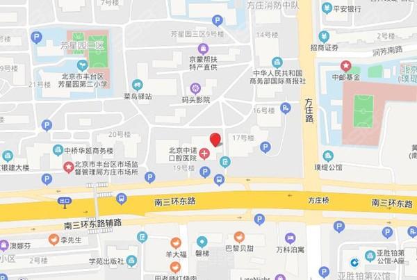 北京中诺口腔医院地址在哪里
